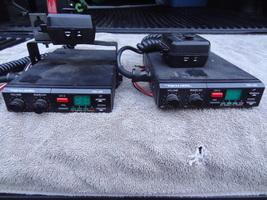 LOT OF 2  REALISTIC TRC-430  CB RADIO  USED WORK WELL  W/ MICROPHONES  NICE - $49.99