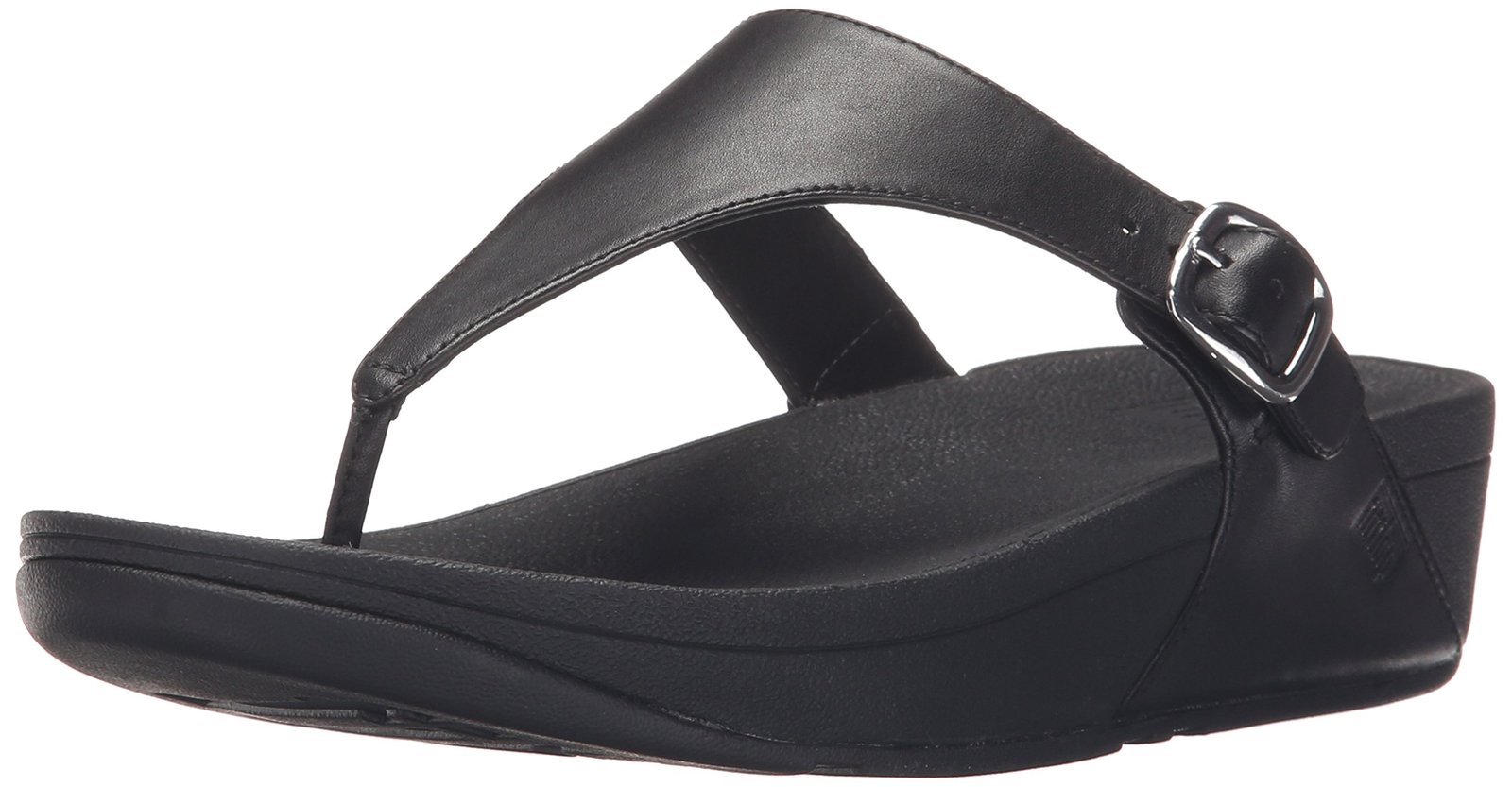 Fitflop Women's The Skinny Flip Flop, All Black, 6 M US