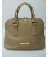 Ivanka Trump Ava Camel Beige Faux Leather Dome Satchel Handbag Purse no ... - $28.95