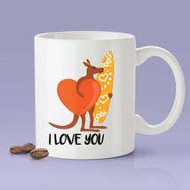 New Mug - Australia   I Love You   Kangaroo Surfer Mug [Gift Idea - $10.99+