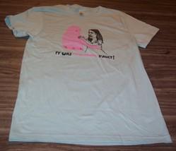 WOMEN'S TEEN Juniors THE SHINS It Was The Shins Fault! Band T-shirt LARG... - $19.80