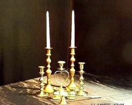 Candlestick Holders Vintage 8 Piece set AA18-1015 image 2