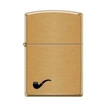 Zippo Lighter - Pipe Lighter Brushed Brass - 853795 - $26.69