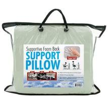 Supportive Foam Back Support Pillow - Unique Curved Design - Gives All Day Suppo - $16.99