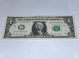 2013 $1 Dollar Bill US Bank Note Pairs 2's 6's 7's 22776466 Fancy Money ... - $12.95