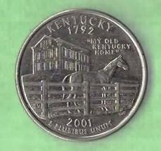 2001 D Kentucky State Quarter - Near Uncirculated  - $1.25