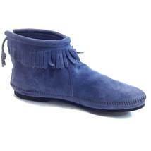 Minnetonka, Womens MOCCASINS, Storm Blue 285 - $45.00