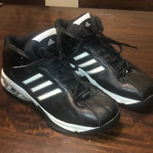 Adidas Adiprene Black Basketball Sneakers Size 11.5 - $45.00