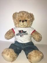 "Build A Bear 2013 World Series Champions Boston Red Sox  Bear 18"" - $22.99"