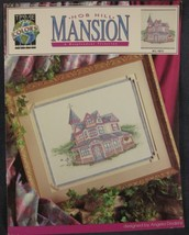 Nob Hill Mansion Counted Cross Stitch Pattern Leaflet True Colors Victor... - $5.00