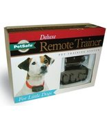 Deluxe Remote Dog Trainer (For Little Dogs, Brand New) PetSafe - $103.85