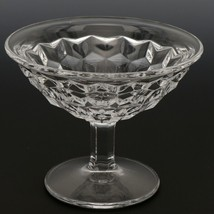 Fostoria American Crystal Goblet 5 OZ Low Sherbet Flared image 1