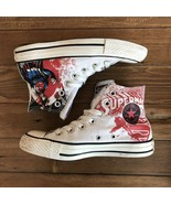 Converse All Star DC Comics Superman Hi top unisex sneakers Sz 5.5 W 3.5 M - $48.51