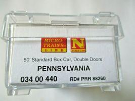 Micro-Trains # 03400440 Pennsylvania 50' Standard Boxcar Double Door N-Scale image 5