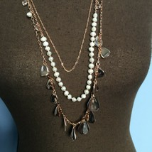 White House Black Market Multi-Strand Statement Necklace - $19.80
