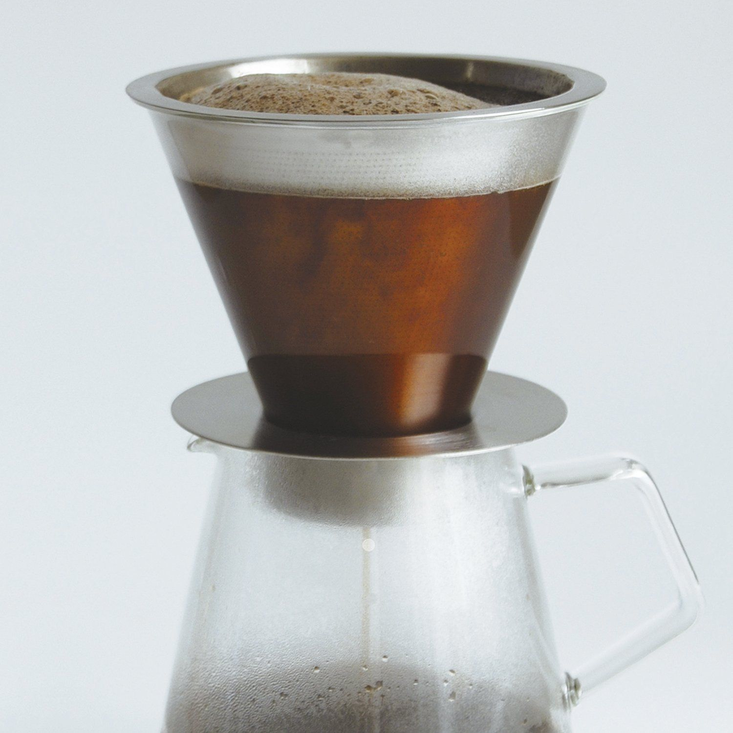700 ml Carat Coffee Dripper and Pot with Lid by Kinto image 12