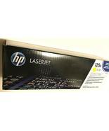 HP Laserjet Toner 125A Yellow Factory Sealed New - $49.49