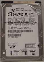 """HTS721080G9AT00 Hitachi 80GB IDE 2.5"""" drive Tested Free USA Ship Our Drives Work"""