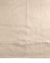Sferra Marcus Dot Taupe Standard Pillowcases Pair 100% Cotton Sateen 400... - $47.50