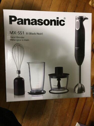 NEW Panasonic MX SS1 Hand Held Immersion Blender Black