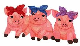 Nature Weaved in Threads, Amazing Baby Animal Kingdom [ Sweet Piglet Trio ][Cust - $23.76