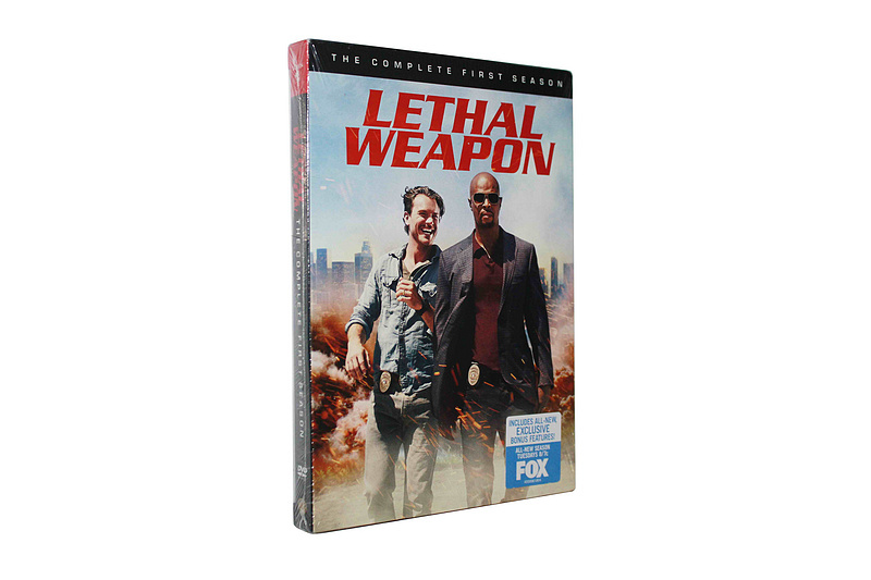 Lethal Weapon The Complete First Season 1 DVD Box Set 4 Disc Free Shipping