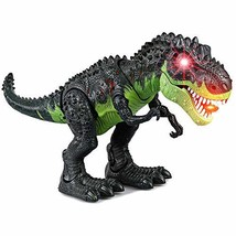 ERollDeep-KINGBOT Dinosaur Toys LED Light & Sounds Walking Tyrannosaurus T-Rex T