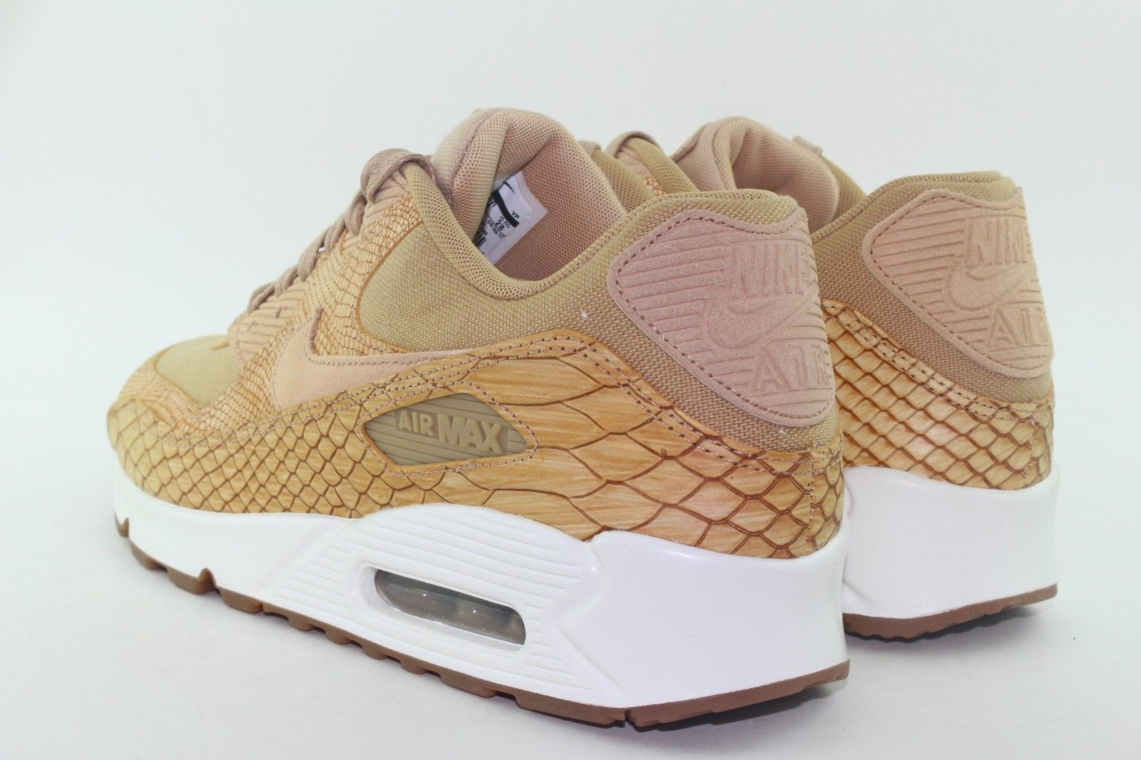 brand new 3fa8a 108b6 NIKE AIR MAX 90 PREMIUM LEATHER MEN 9.0 VACHETTA TAN NEW RARE RUNNING  COMFORT