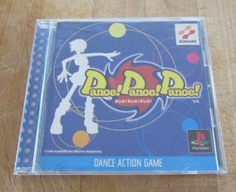 Dance! Dance! Dance! japan Sony Playstation 1 PS1 Game Konami - $9.89