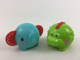 Fisher Price Toddler Stacking Animal Toys 3pc Lot Elephant Crocodile Toy image 4