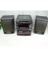 Aiwa CX-NV3000U Compact 3Disc Stereo Dual Cassette Receiver w/ Remote & ... - $235.00