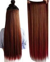 "BarRan 24"" (60cm) Half Full Head Remy One Piece 5 clips in Hair Extensio... - $8.80"