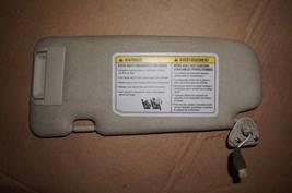 2003-2007 Infiniti G35 Coupe Rh Passenger Side Sun Visor Tan - $49.49