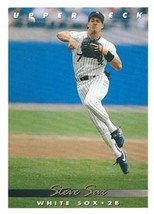 1993 Upper Deck #369 Steve Sax NM-MT White Sox - $0.90