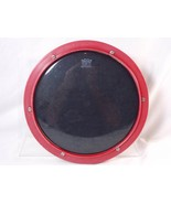 """Remo Weather King 10"""" Tunable Drum Practice Pad Red Plastic Made in USA - $24.74"""