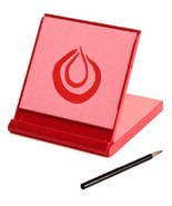 Water Drawing Board Art Supply Red Mini Buddha Board Erases Dry All Ages... - $22.19