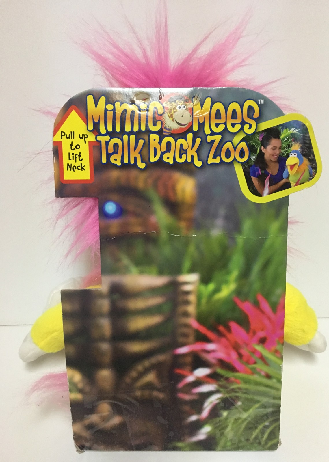 "Mimic Mees Talk Back Zoo 14"" inches Lion Jay At Play Plush Puppet Talks"