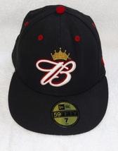 New Era Wool Baseball CAP BUDWEISER B CROWN LOGO Beer Advertising Anheuser-Busch