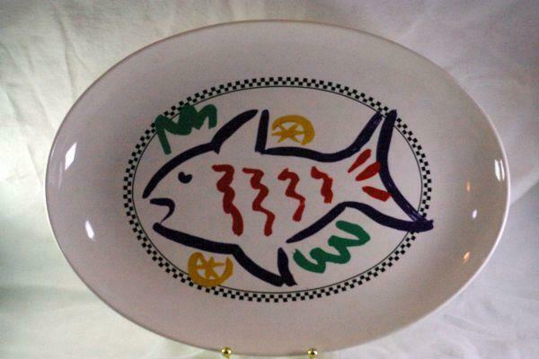 Primary image for Signature Cucina Fresca Oval Platter 16""