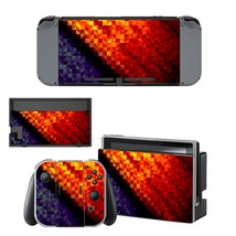 Prismic pattern vinyl decal for Nintendo switch console sticker skin - $15.00