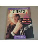 7 Days Magazine Keith Haring pop artist; NYTrivia; Firing Shrinks March ... - $74.99