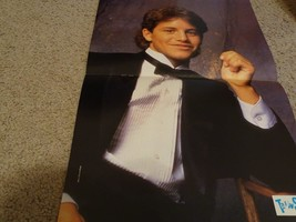 Kirk Cameron teen magazine poster clipping black suit and tie Teen Set Bop - $4.00