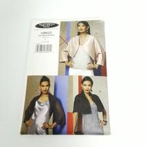 Vogue V8622 Bolero Jacket Classic Size L XL Pattern Uncut - $16.95