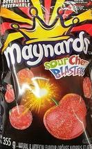 Maynards Sour Cherry Blasters 10 bags 355g each Canadian Made   - $79.99