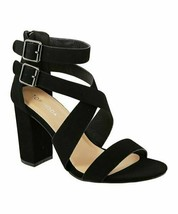 TOP MODA, Black Maya Sandal - $21.00