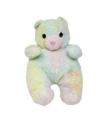 TY 1999 BEARBABY BEAR BABY COLOR TEDDY PILLOW PAL RATTLE STUFFED ANIMAL ... - $45.82