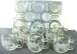 Nestle World cups - 8 cups  with plastic trays  Made in Denmark  in Orig... - $23.36