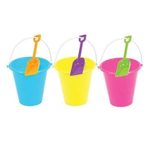 """7"""" Bucket And Shovel Sets, 3 Assortents, Case of 36 - $94.59"""