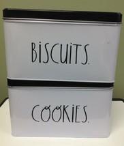 Metal Biscuits/Cookies Rae Dunn Tins - $38.60