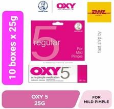 x10 tube OXY 5 Mild Pimple Mentholatum Acne Cream Medication  25g ship ... - $112.76